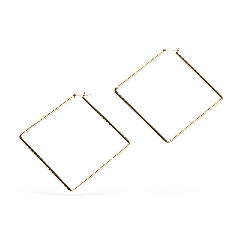 Uncommon James: Girl Boss Earrings - Gold