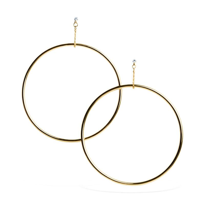 Uncommon James: Kingsley Earrings - Gold