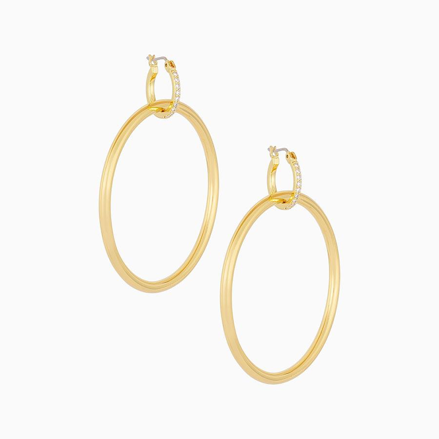 Uncommon James: Lyra Hoops Earrings - Gold