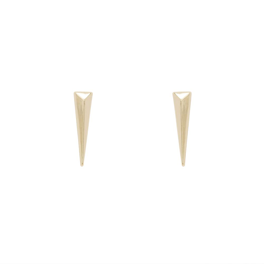 Uncommon James: Predator Earrings - Gold