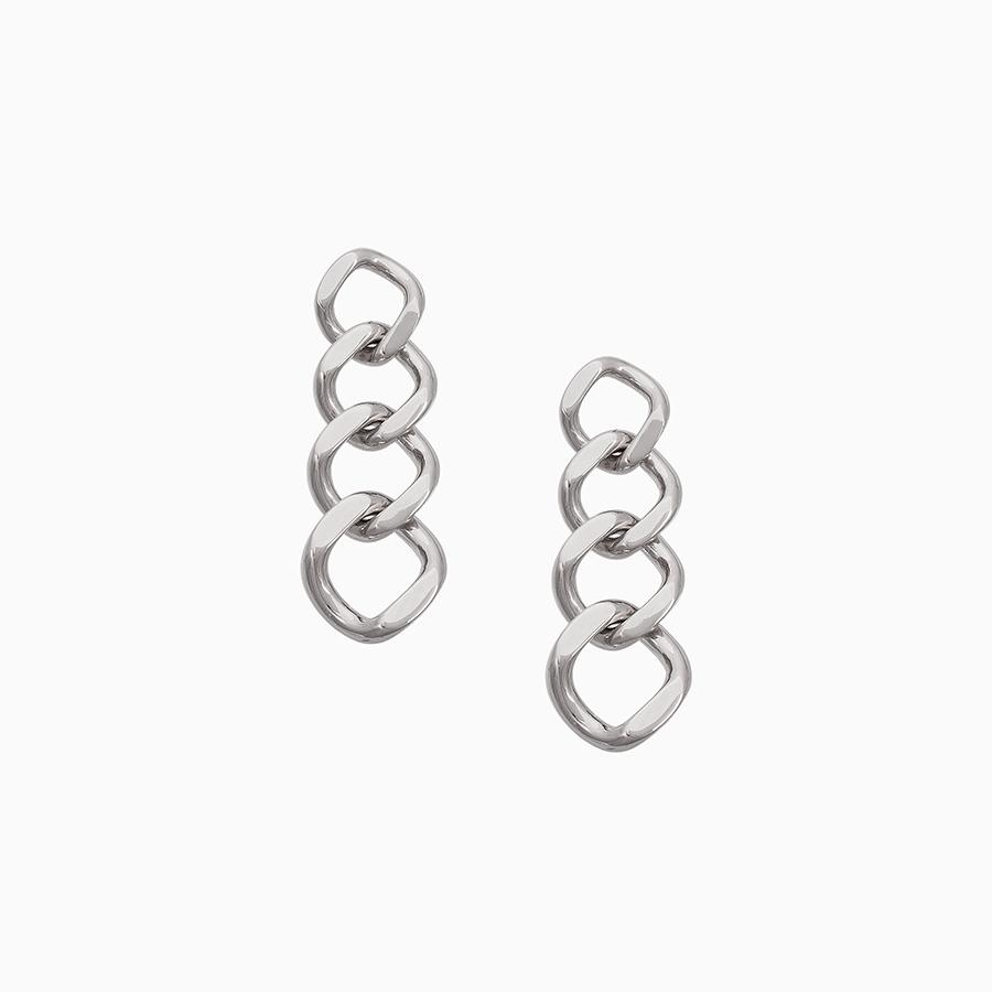 Uncommon James: Reign Earrings - Silverd