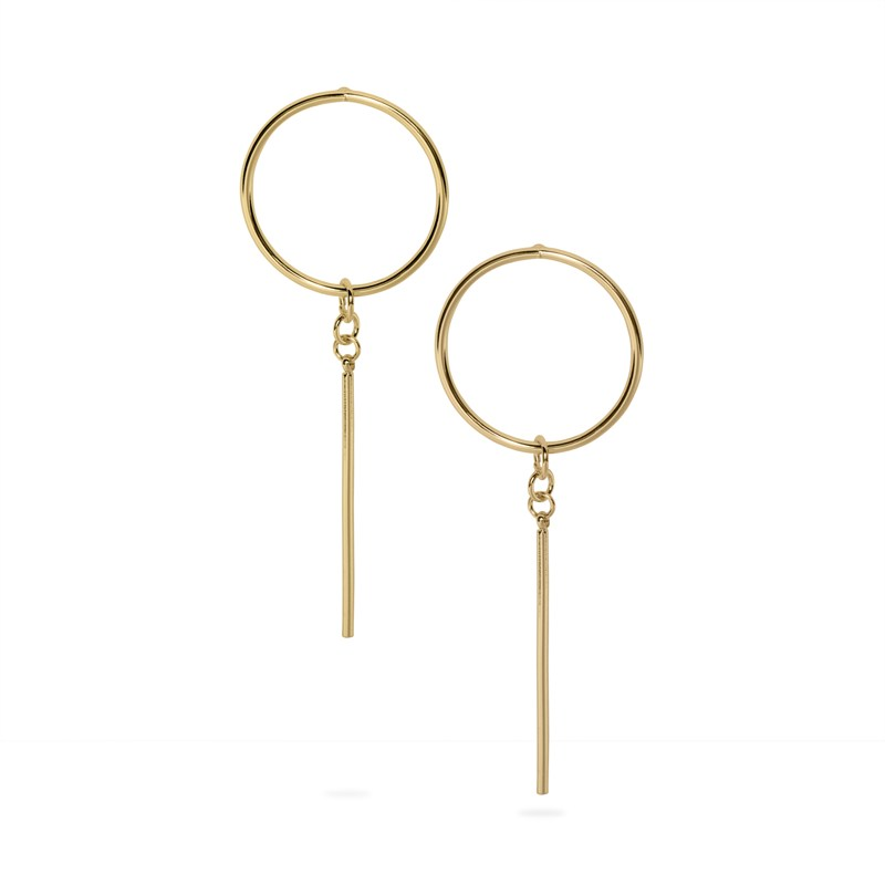 Uncommon James: Rhapsody Earrings - Gold