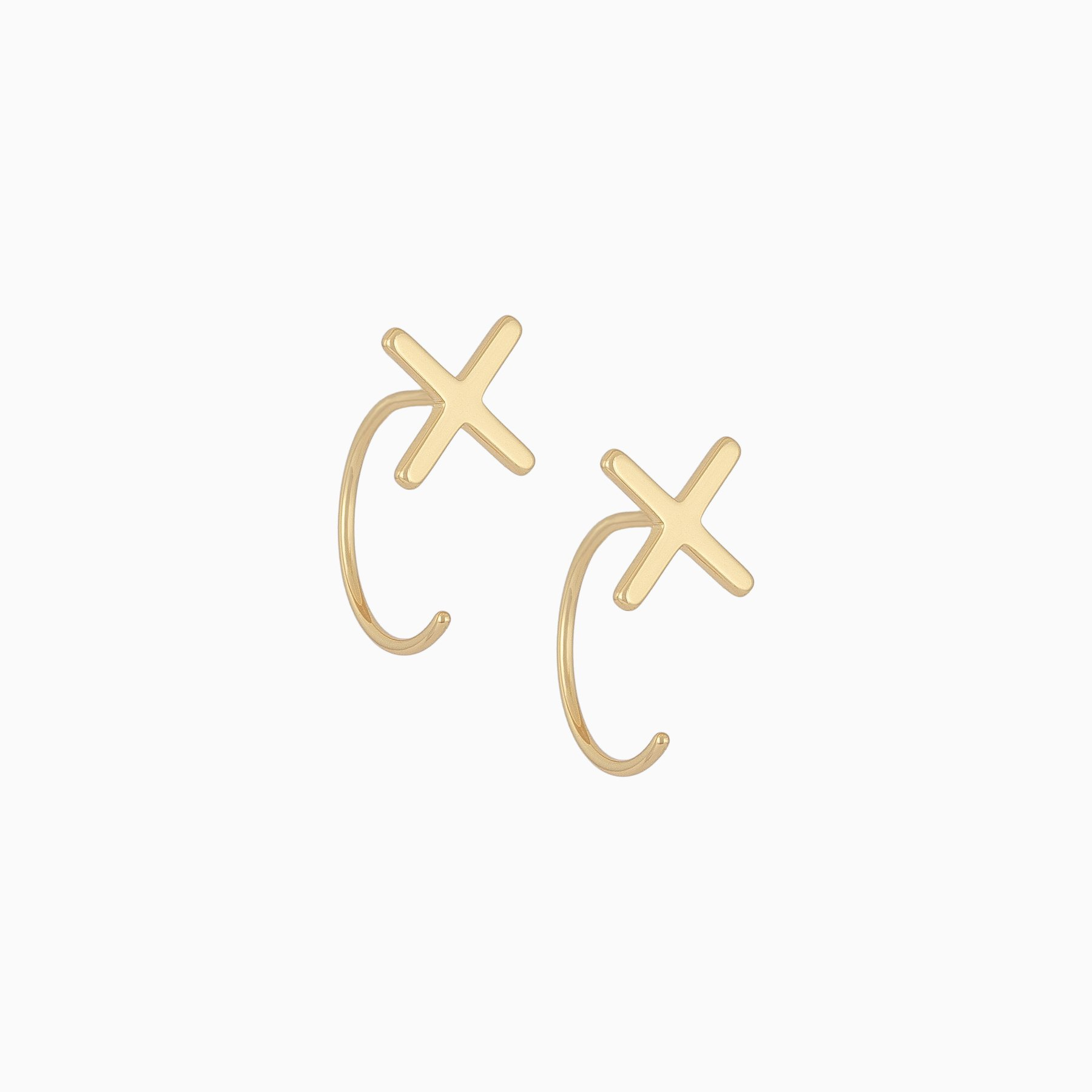 Uncommon James: Venus Ear Jacket Earrings - Gold