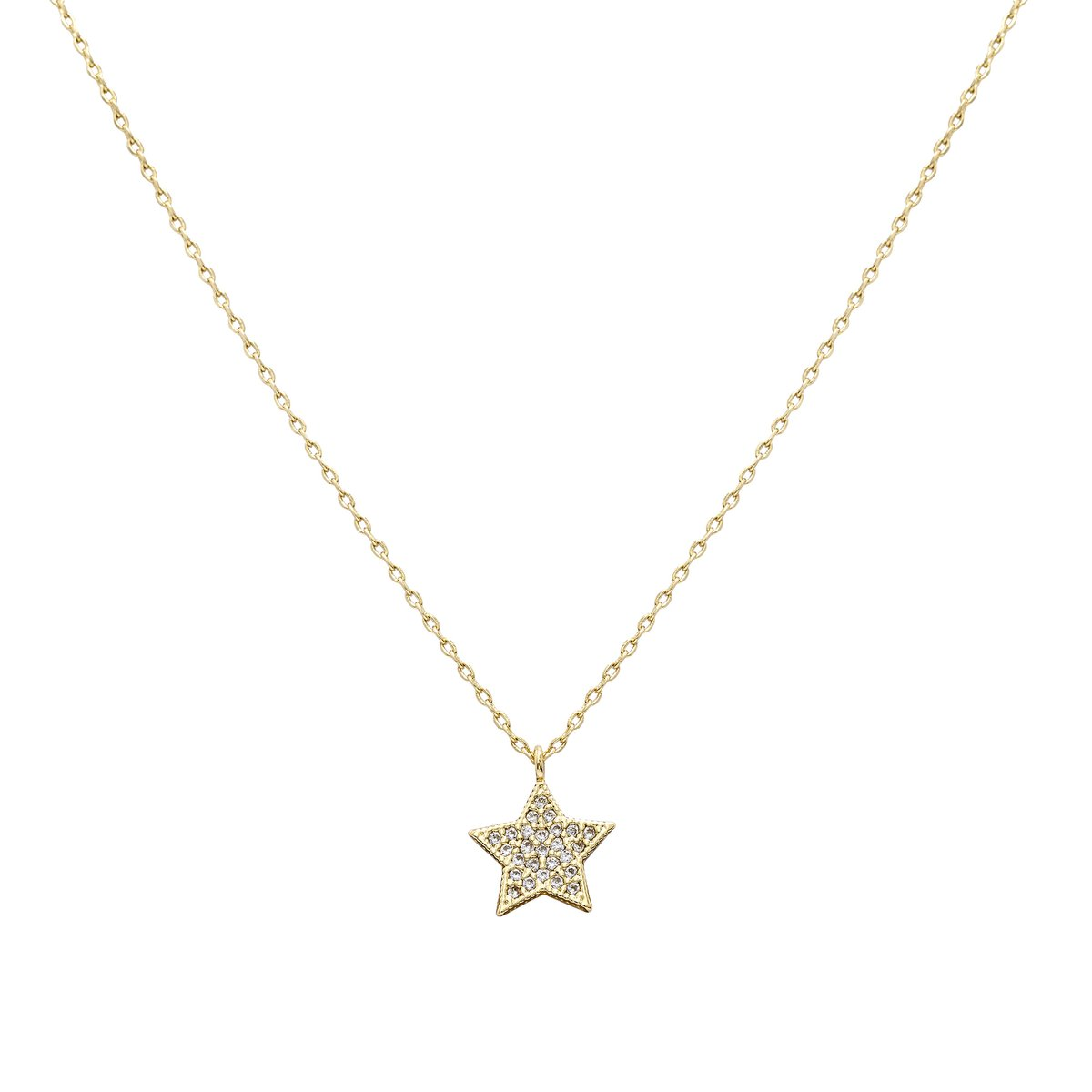 Uncommon James: Big Star Necklace - Gold