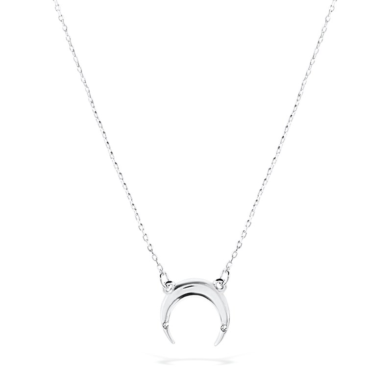 Uncommon James: Crescent Necklace - Silver