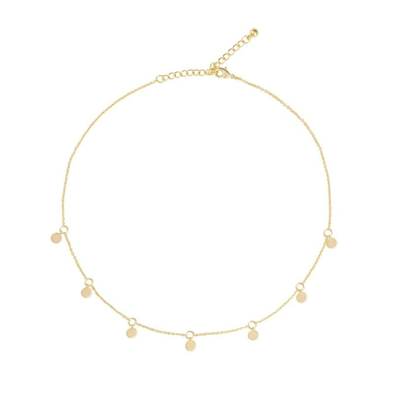 Uncommon James: Poppy Necklace - Gold