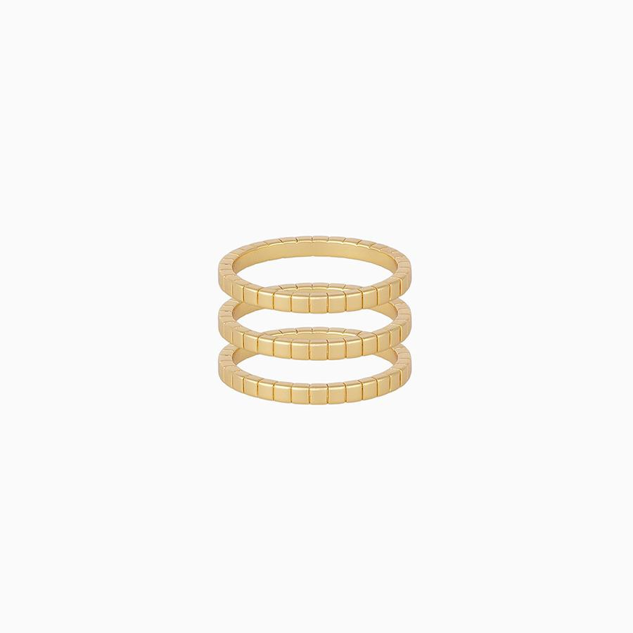 Uncommon James: Walk The Line Ring - Gold