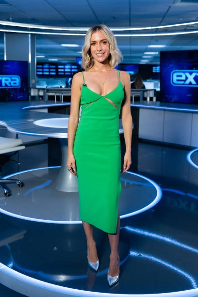 Kristin Cavallari at Extra, January 6, 2020